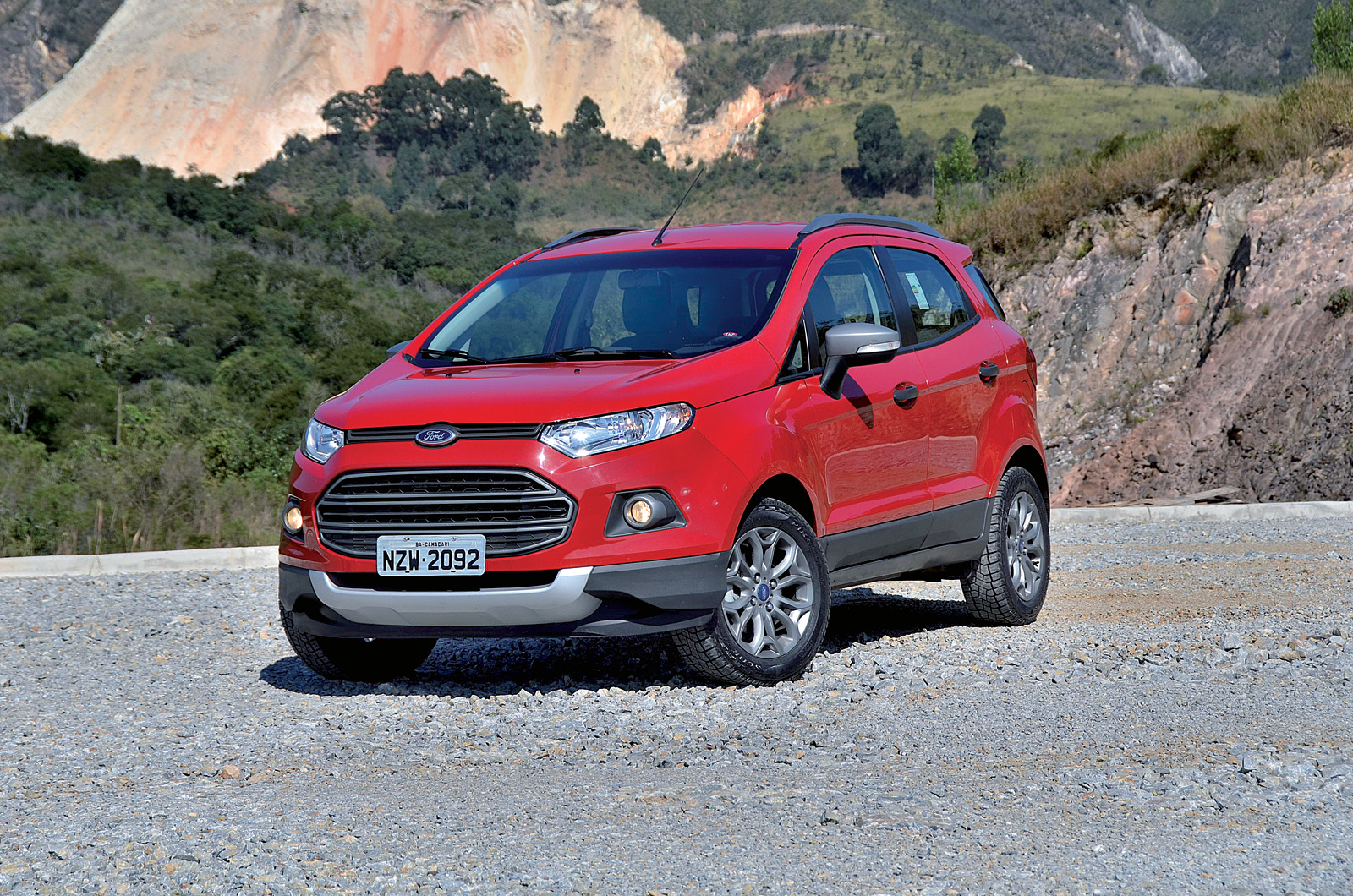 Ford Ecosport will be fitted with a 1.0-litre Ecoboost engine