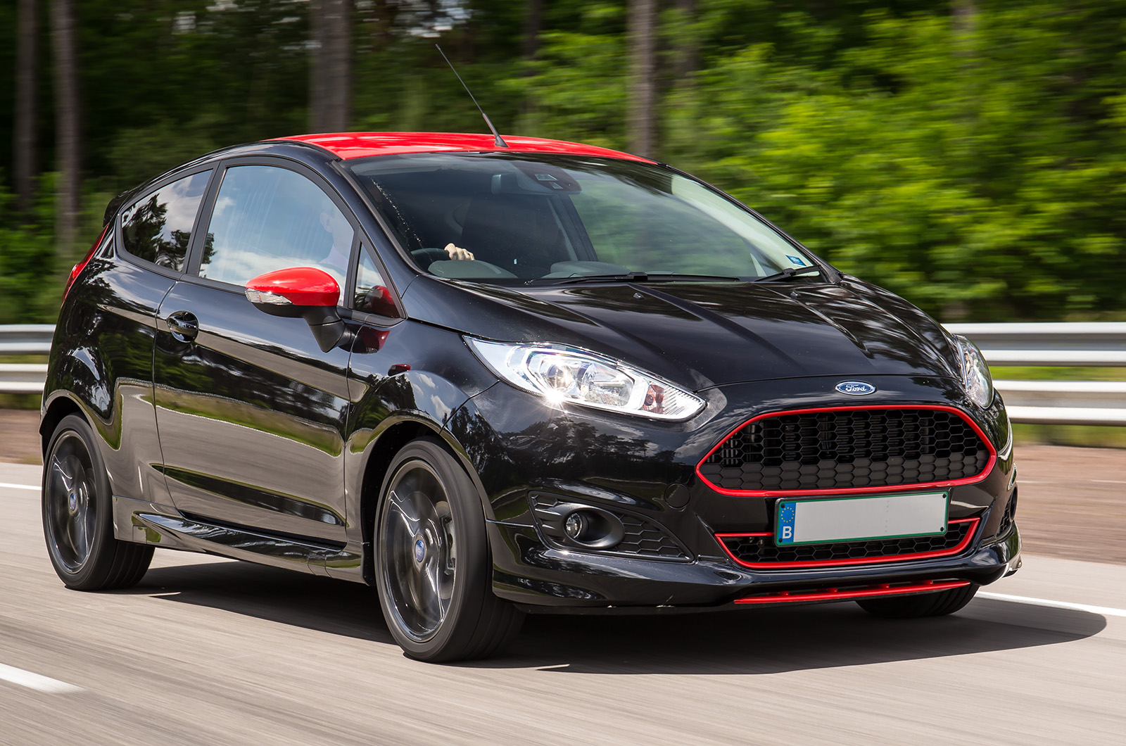Ford Fiesta Red And Black Editions First Drive Review Autocar 2015 St