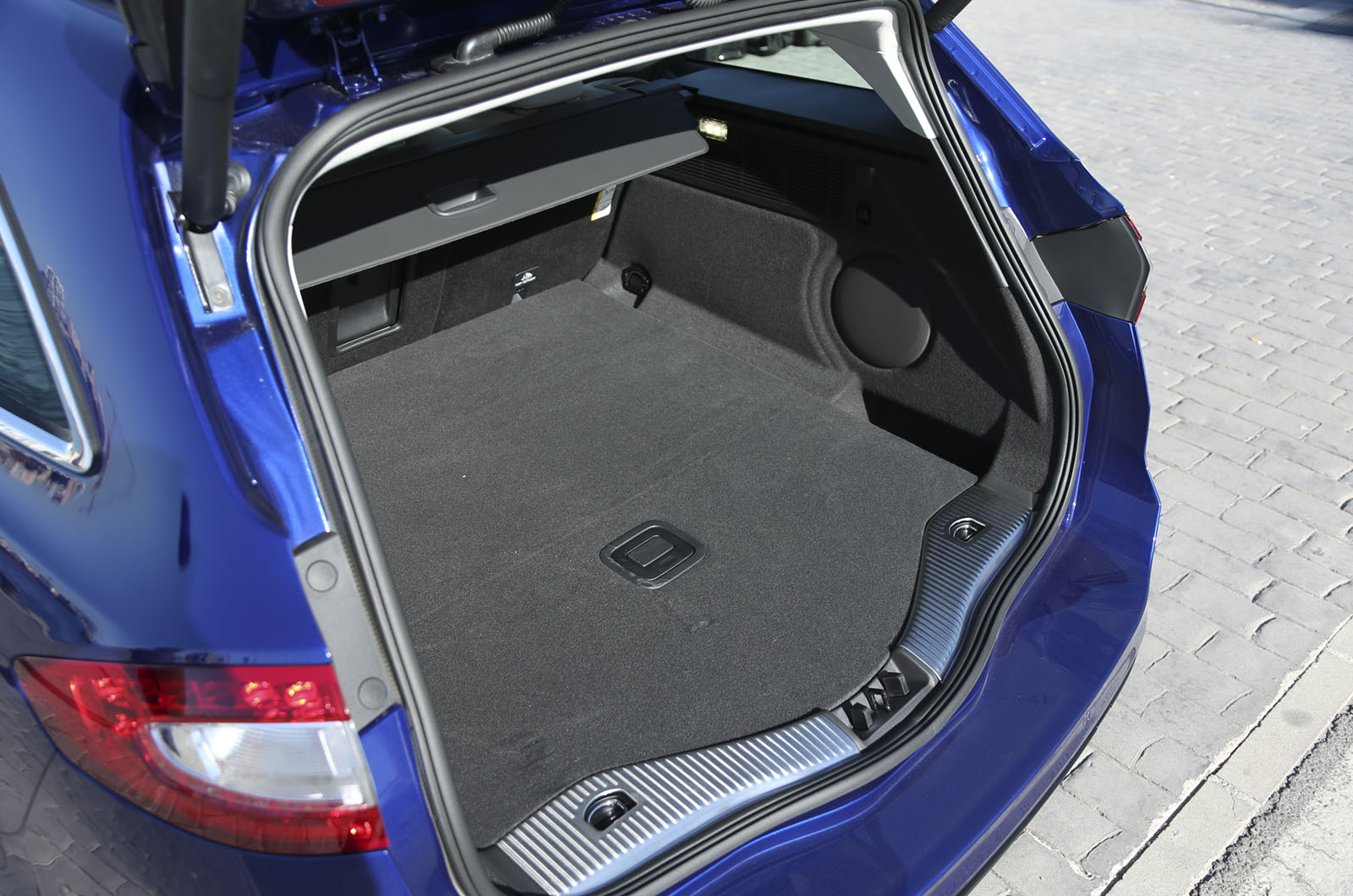 The Mondeo Offers 755 Litres Of Boot Space With The Rear