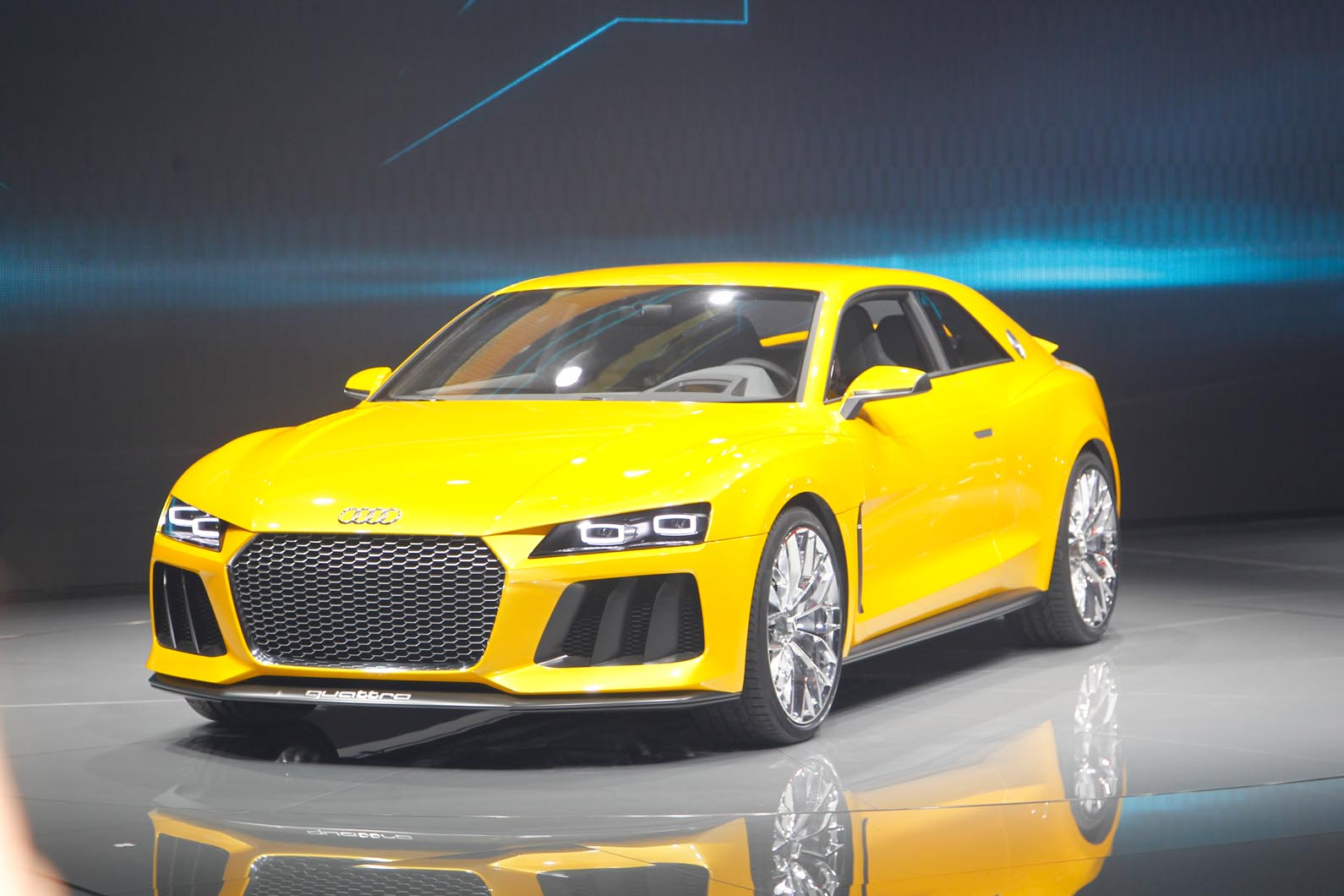 Audi Sport Quattro Reborn With 690bhp | Autocar
