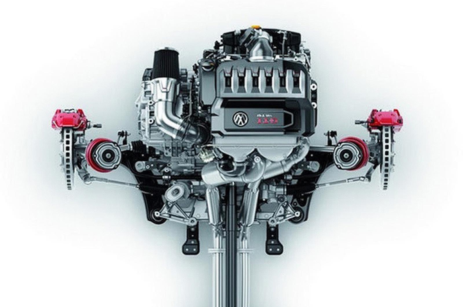 vw 39 s new 496bhp 3 0 litre vr6 engine autocar. Black Bedroom Furniture Sets. Home Design Ideas