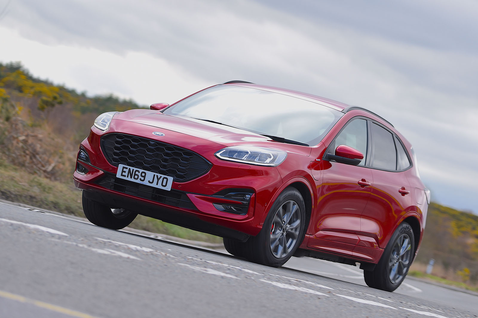 Ford Kuga Phev Deliveries Halted Due To Battery Fires Autocar