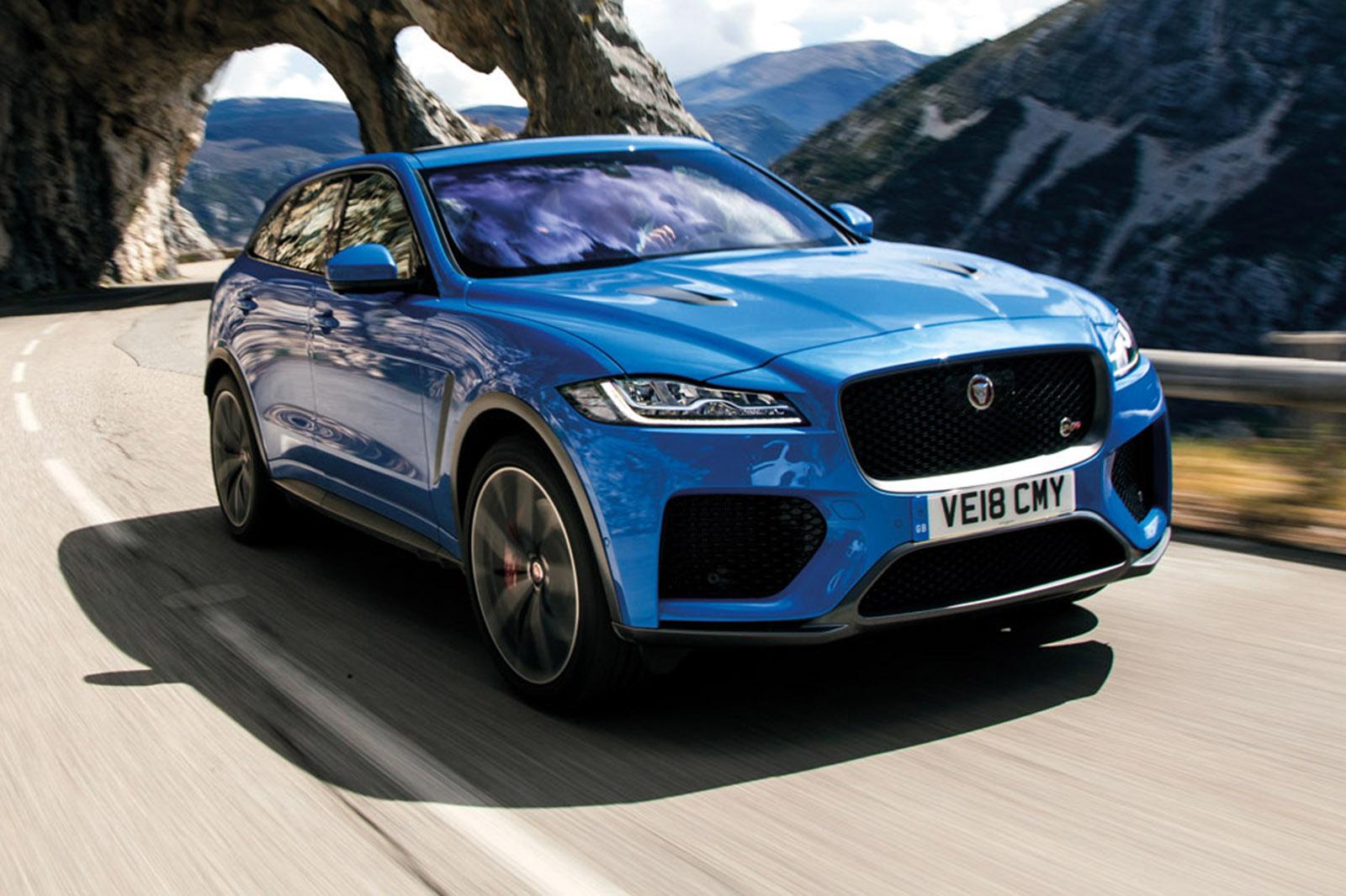 Jaguar F Pace