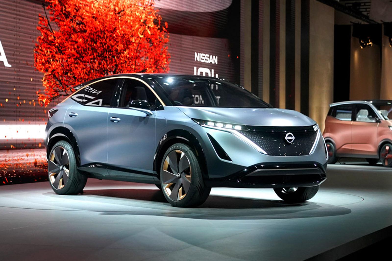 Bold New Nissan Ariya Is Pivotal Electric Suv With 310 Mile Range Autocar