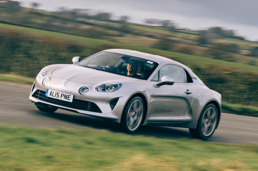 14 alpine a110 legende gt 2021 uk first drive review on road front 0