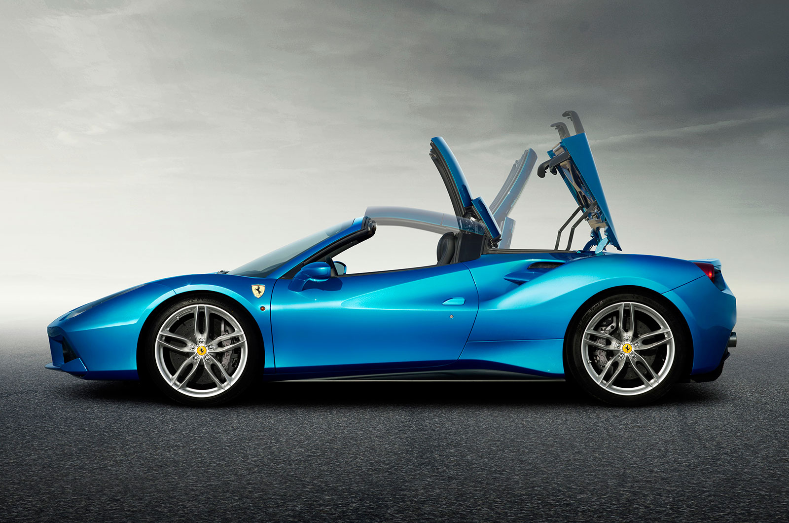 2016 Ferrari 488 Spider Revealed New Pictures And Video Autocar