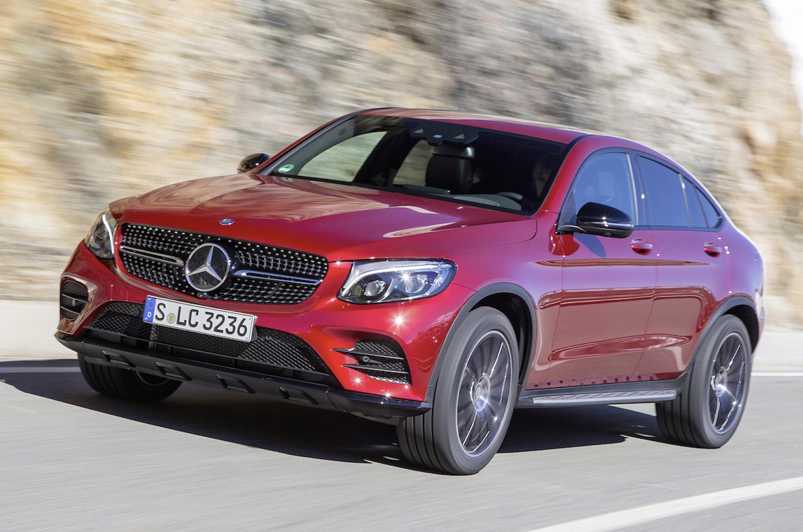 2016 Mercedes-Benz GLC 350 d Coupé review review | Autocar