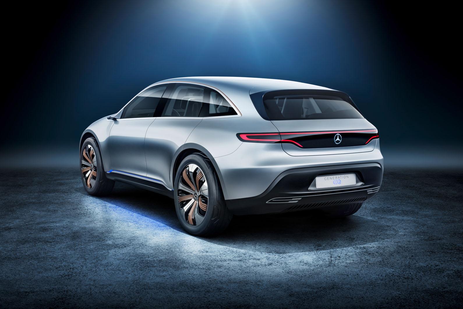 Mercedes Generation Eq Concept Revealed At Paris Motor Show Autocar Benz Electrical