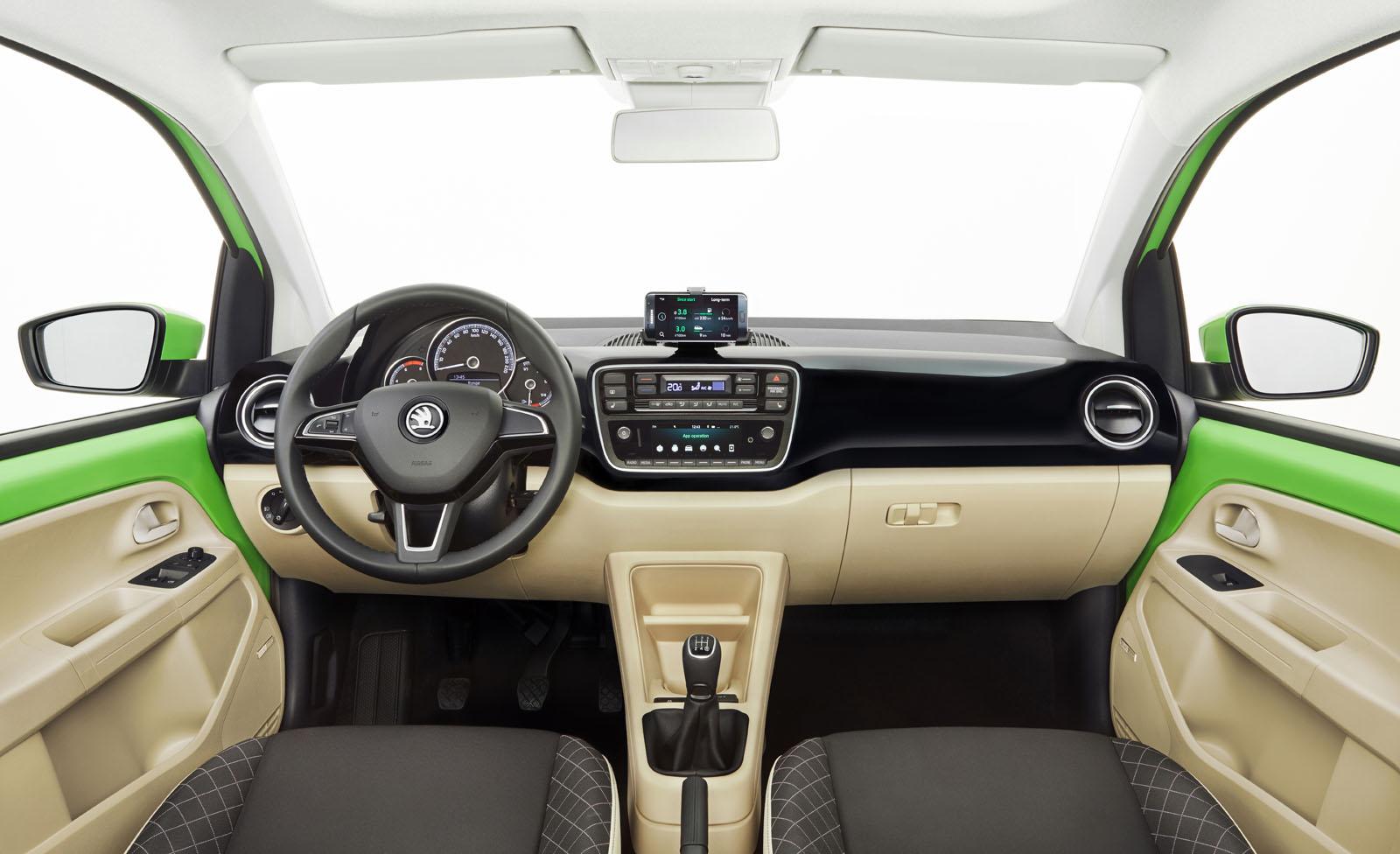 2017 skoda citigo facelift unveiled autocar. Black Bedroom Furniture Sets. Home Design Ideas