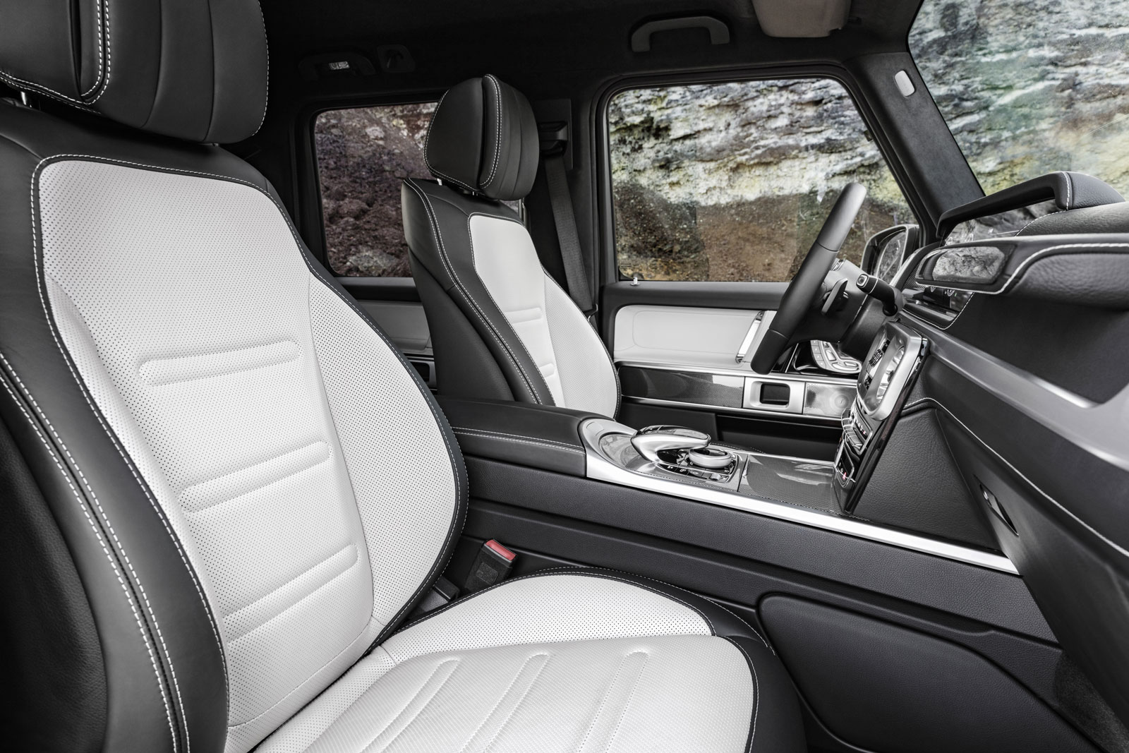 Mercedes Benz G Class Interior Revealed Ahead Of January Launch Autocar
