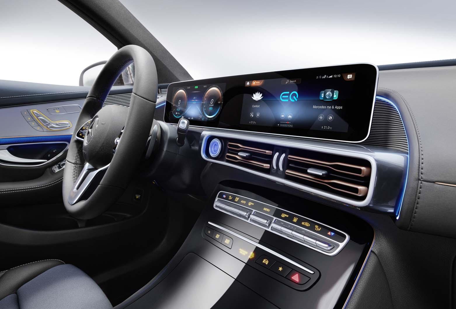 New Mercedes Benz Eqc Uk Pricing Set For Ev Autocar