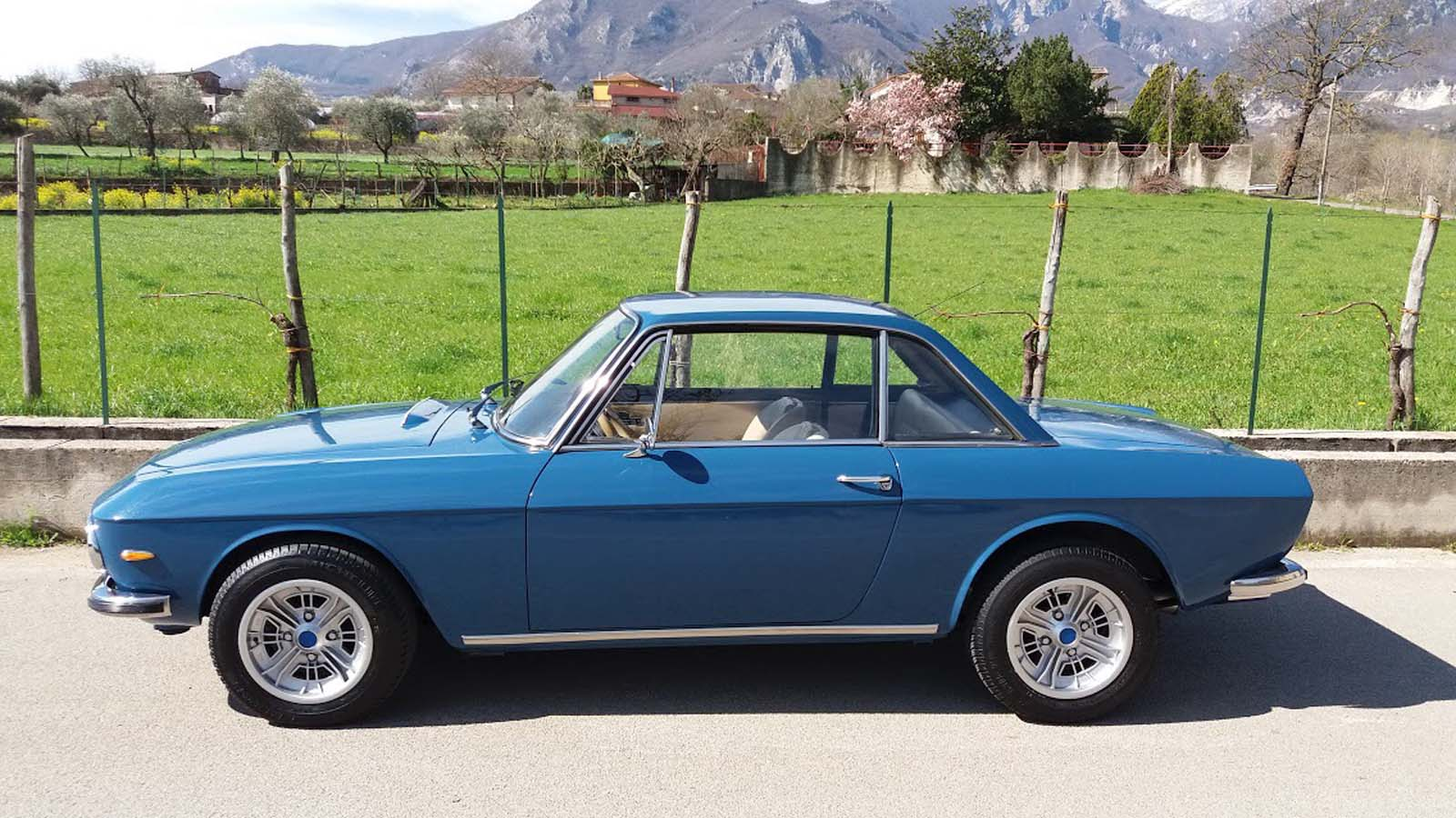 life with a 1974 lancia fulvia 3 1.3s: new tyres and original wheels