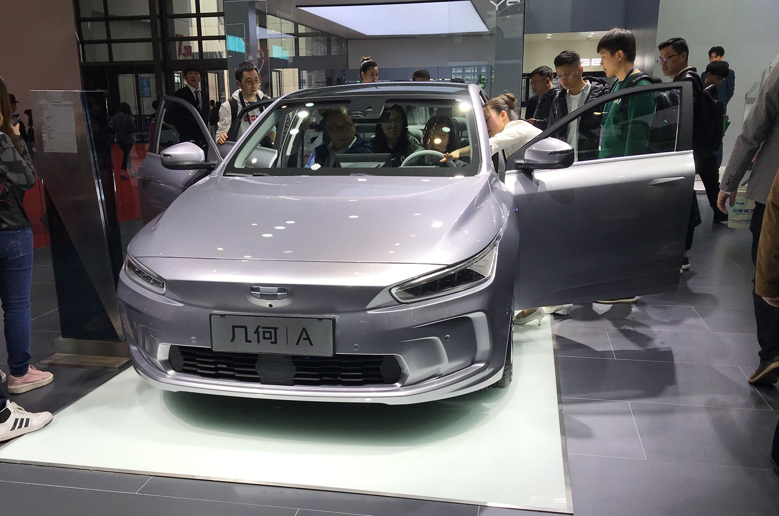 Geely launches EV brand Geometry with Tesla Model 3 rival ...
