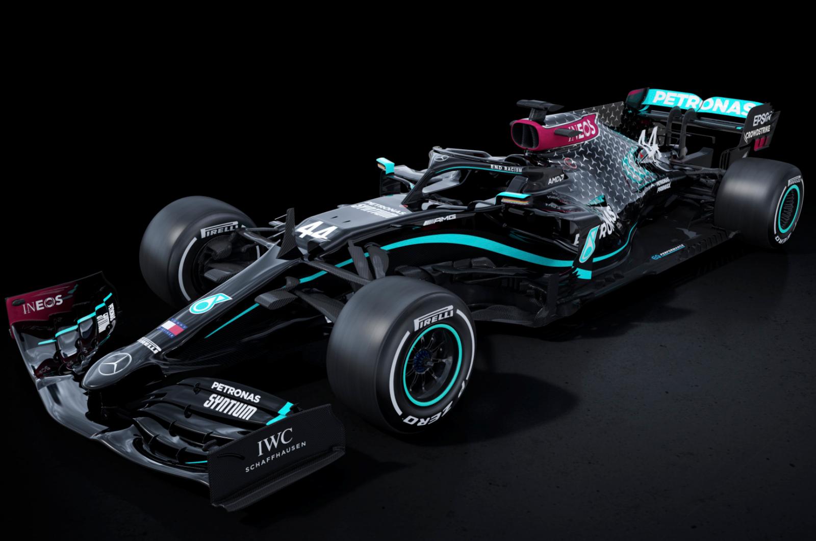 F1 2020: Mercedes-AMG reveals new all-black livery   Autocar