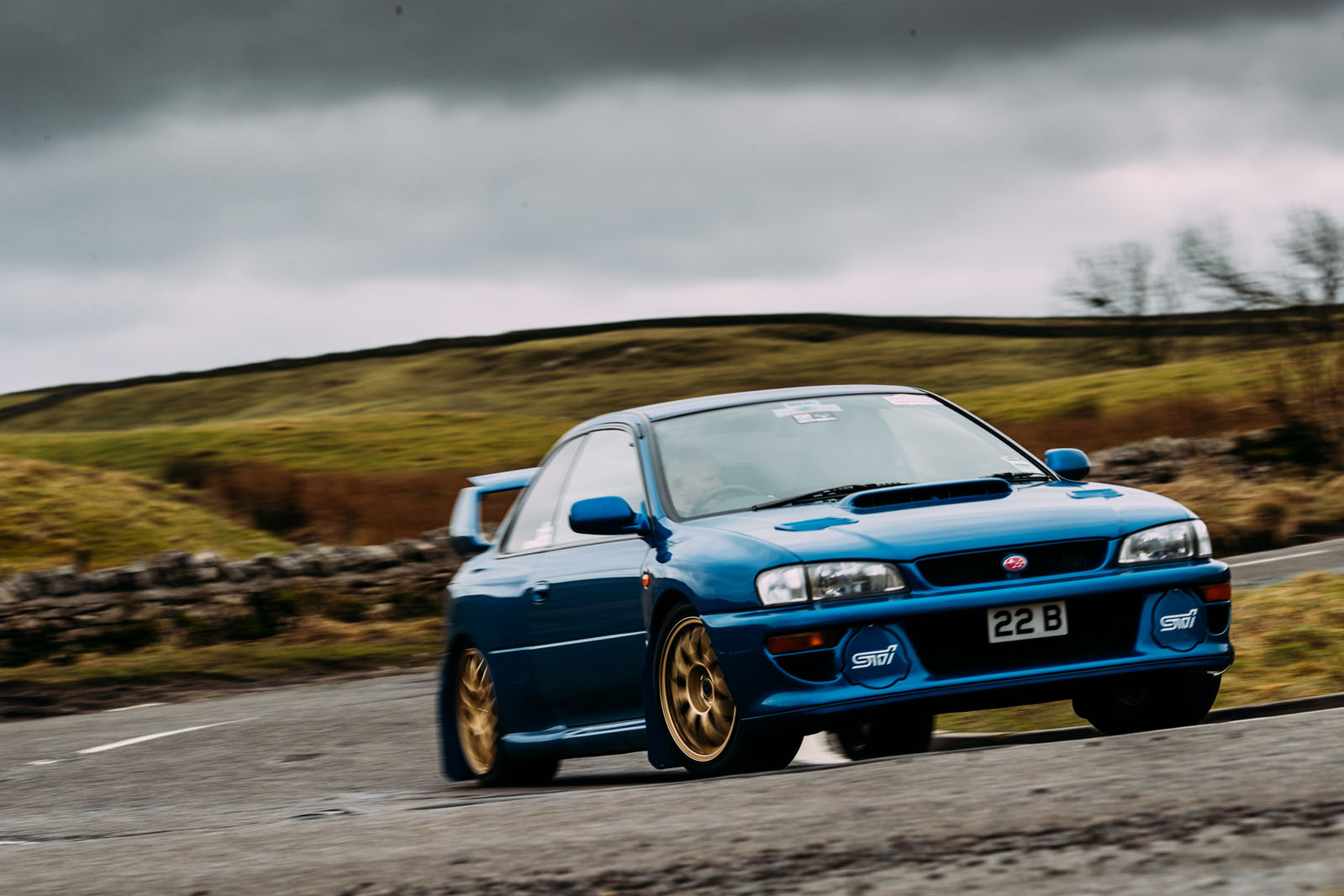 B Vs Maki on 1998 Subaru Impreza 22b Sti