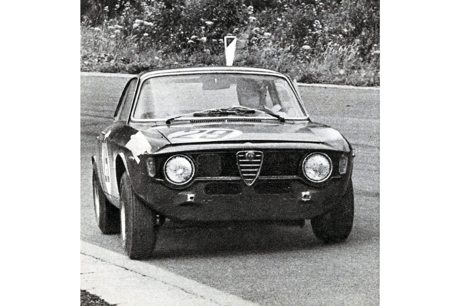 Throwback Thursday 1967 Alfa Romeo Gta First Drive Autocar Ignition Timing We Then Went To The Mira Test Track I Was Away Into Double Bend And Down Main Straight Which Is Just Over Half A Mile Long