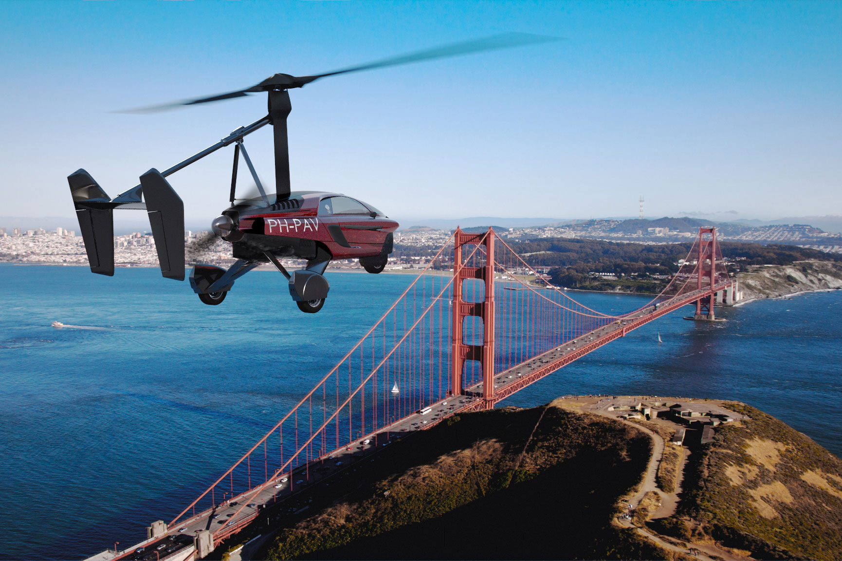 First production road and air legal flying car revealed