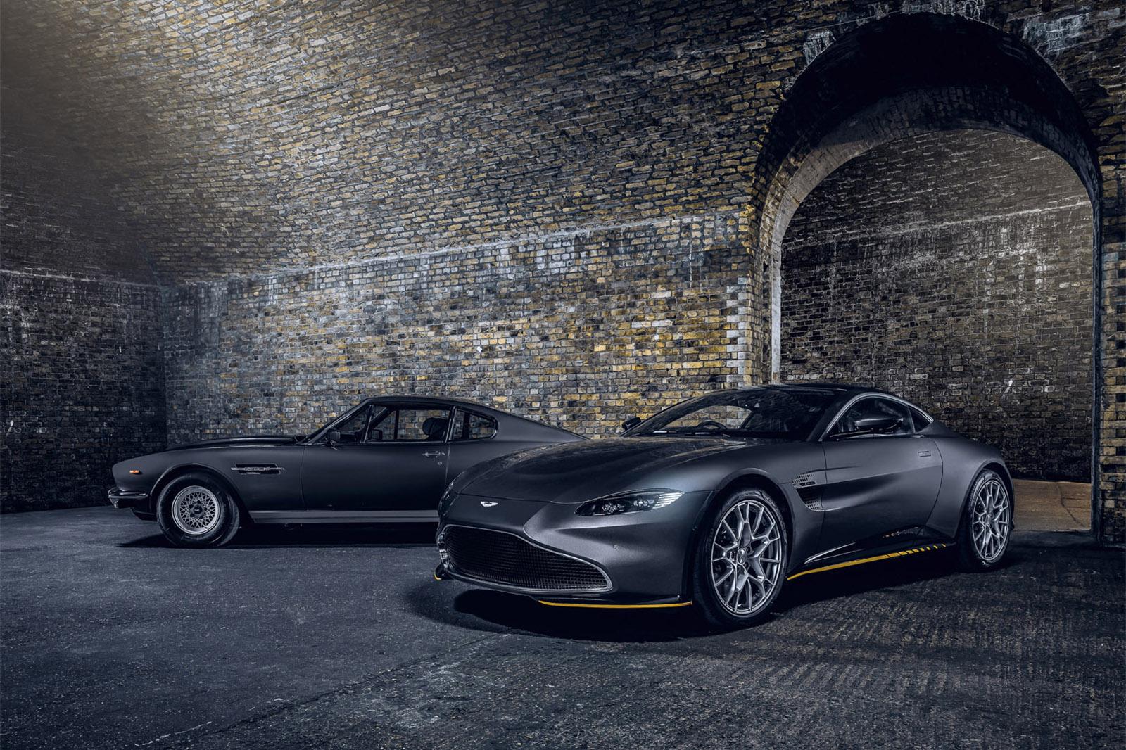 Aston Martin 007 Edition Models Celebrate New James Bond Film Autocar