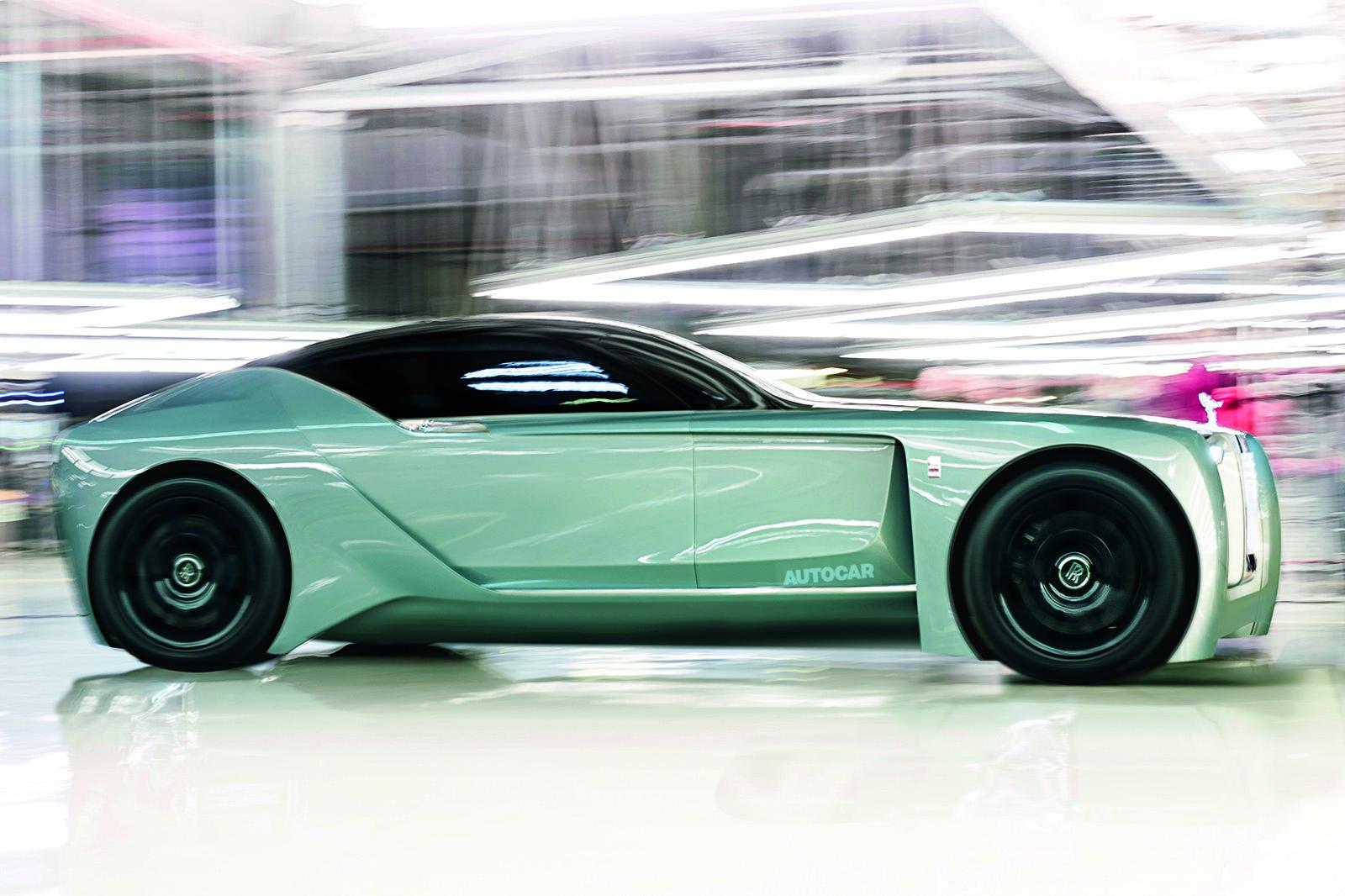 Bespoke 'Silent Shadow' to start EV era at Rolls-Royce   Autocar