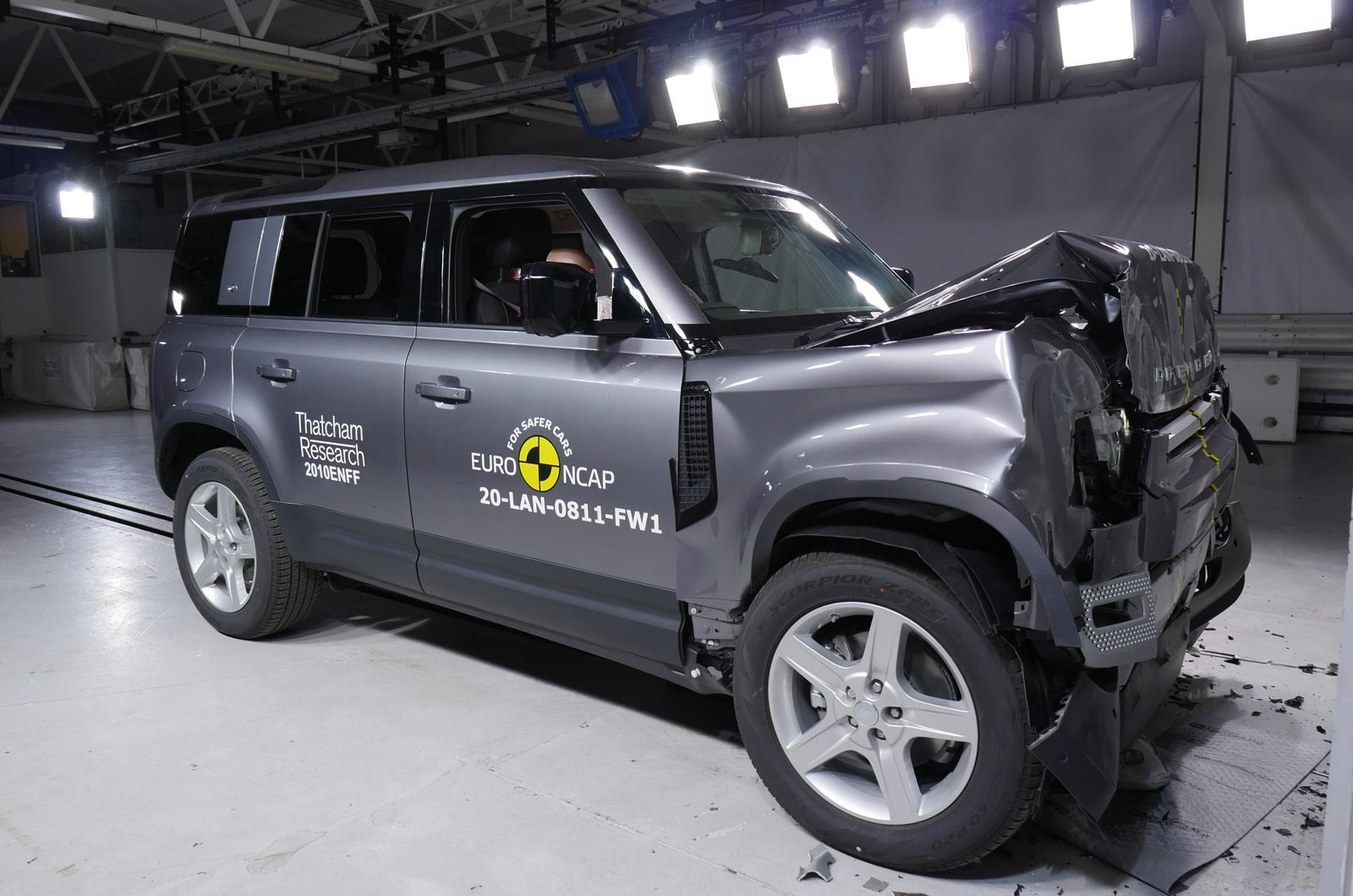 Five-star NCAP ratings for Audi A3 and Land Rover Defender | Autocar