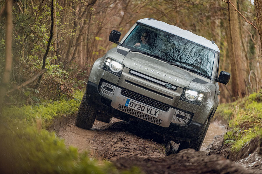 Land Rover to begin hydrogen Defender trials later this year | Autocar