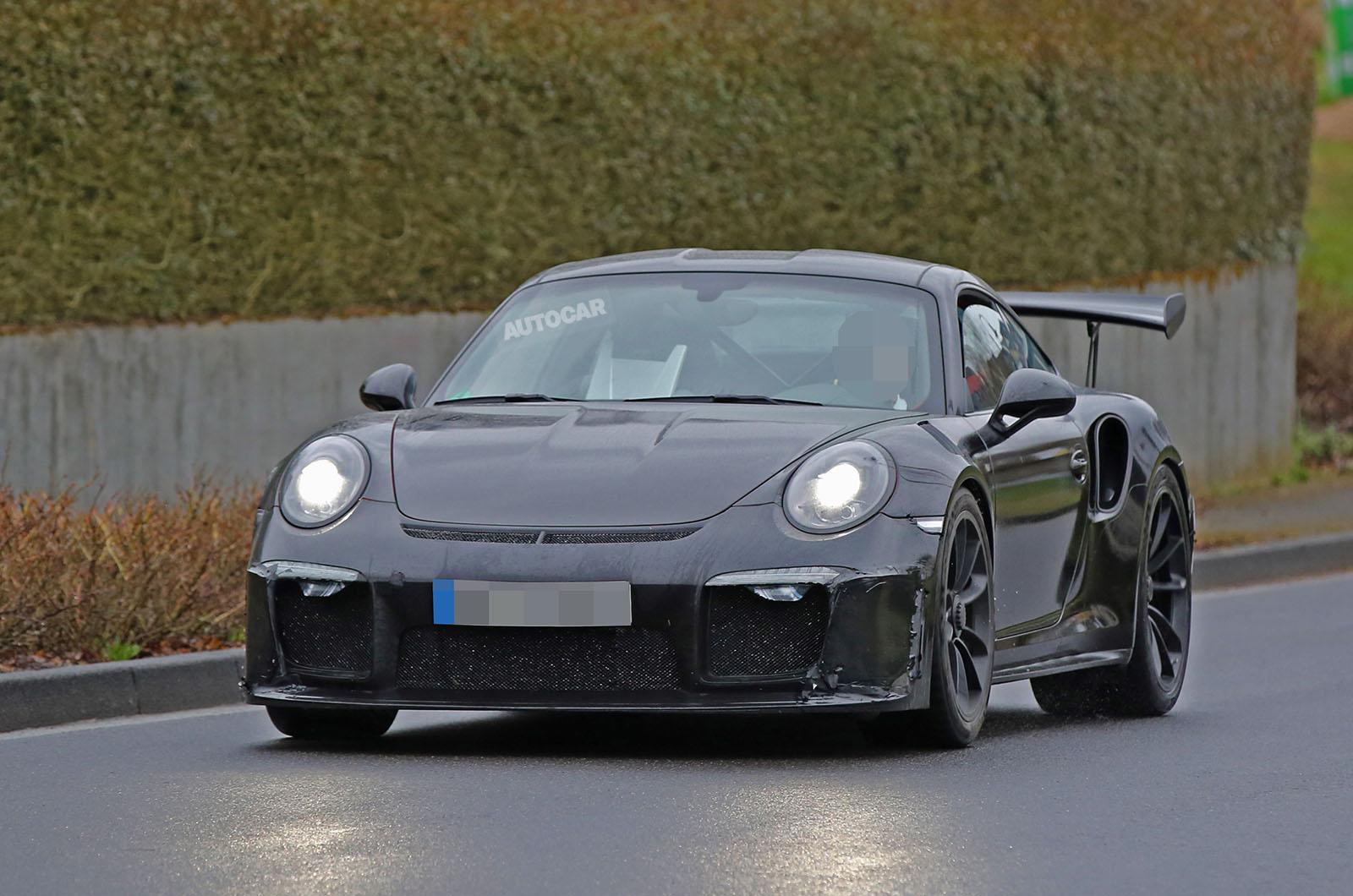 Porsche 911 gt3 rs review 2017 autocar - Porsche 911 Gt3 Rs 4 2 Could Get 518bhp From Enlarged Flat Six Autocar