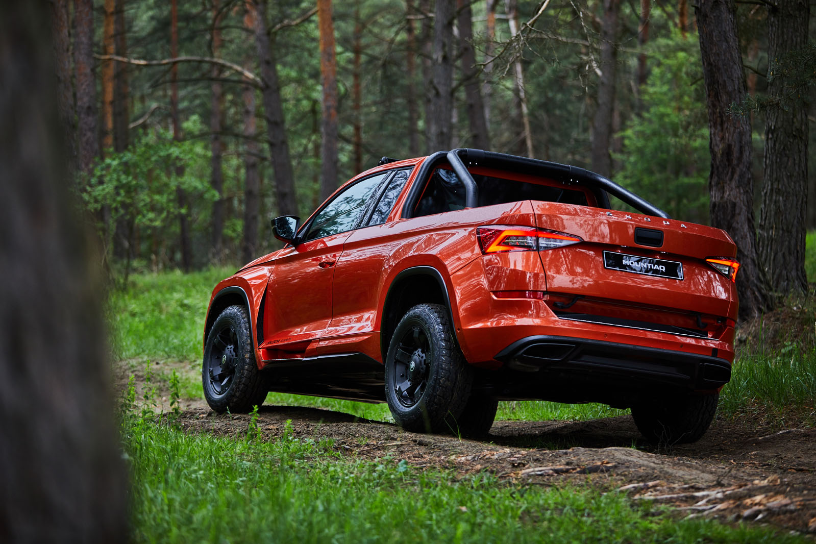 First Drive Skoda Mountiaq Pick Up Concept Autocar