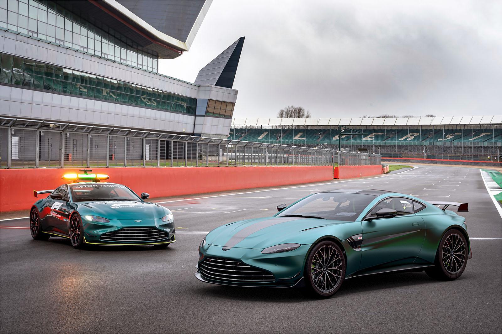 Aston Martin Vantage F1 Edition gets power hike, hardcore look | Autocar