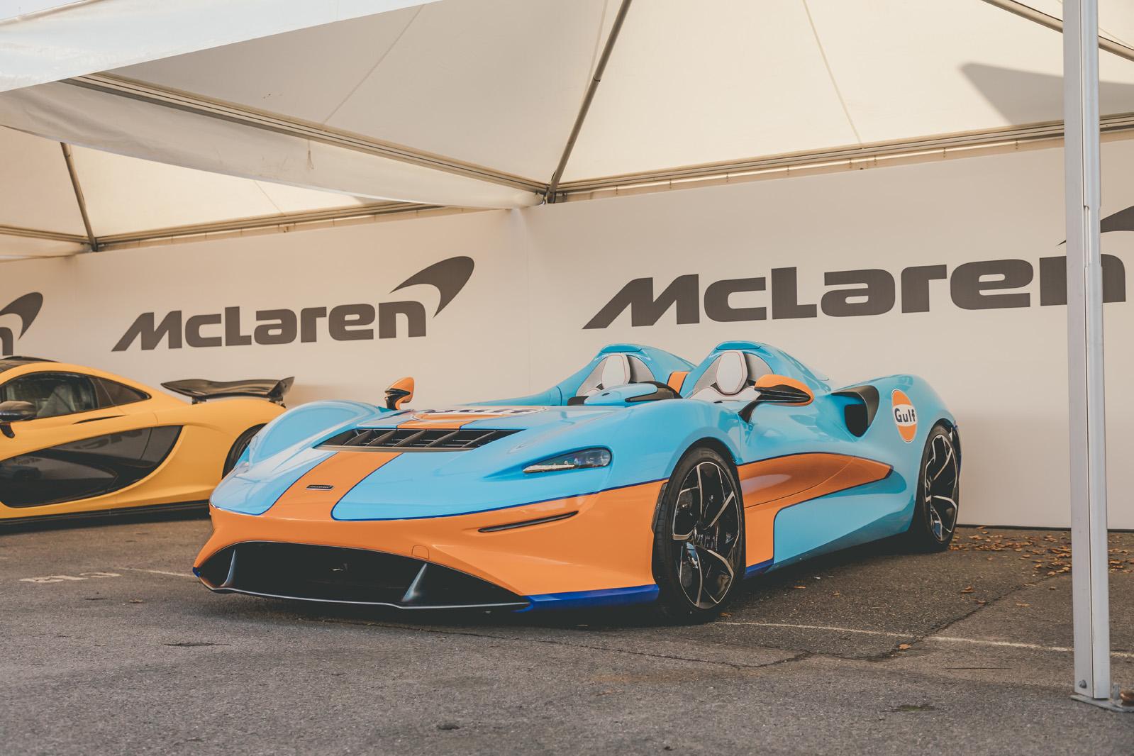 McLaren Elva Gulf Theme by MSO adds retro livery to 804bhp ...