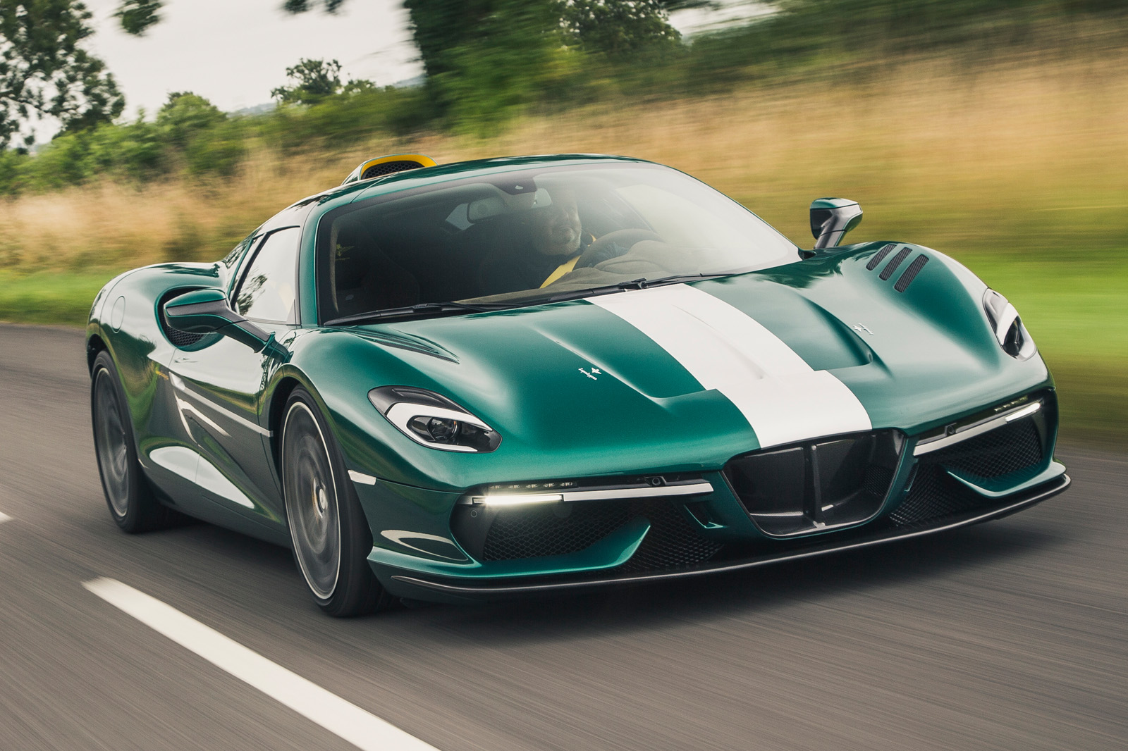 New Touring Arese RH95: Coachbuilt supercar driven in UK