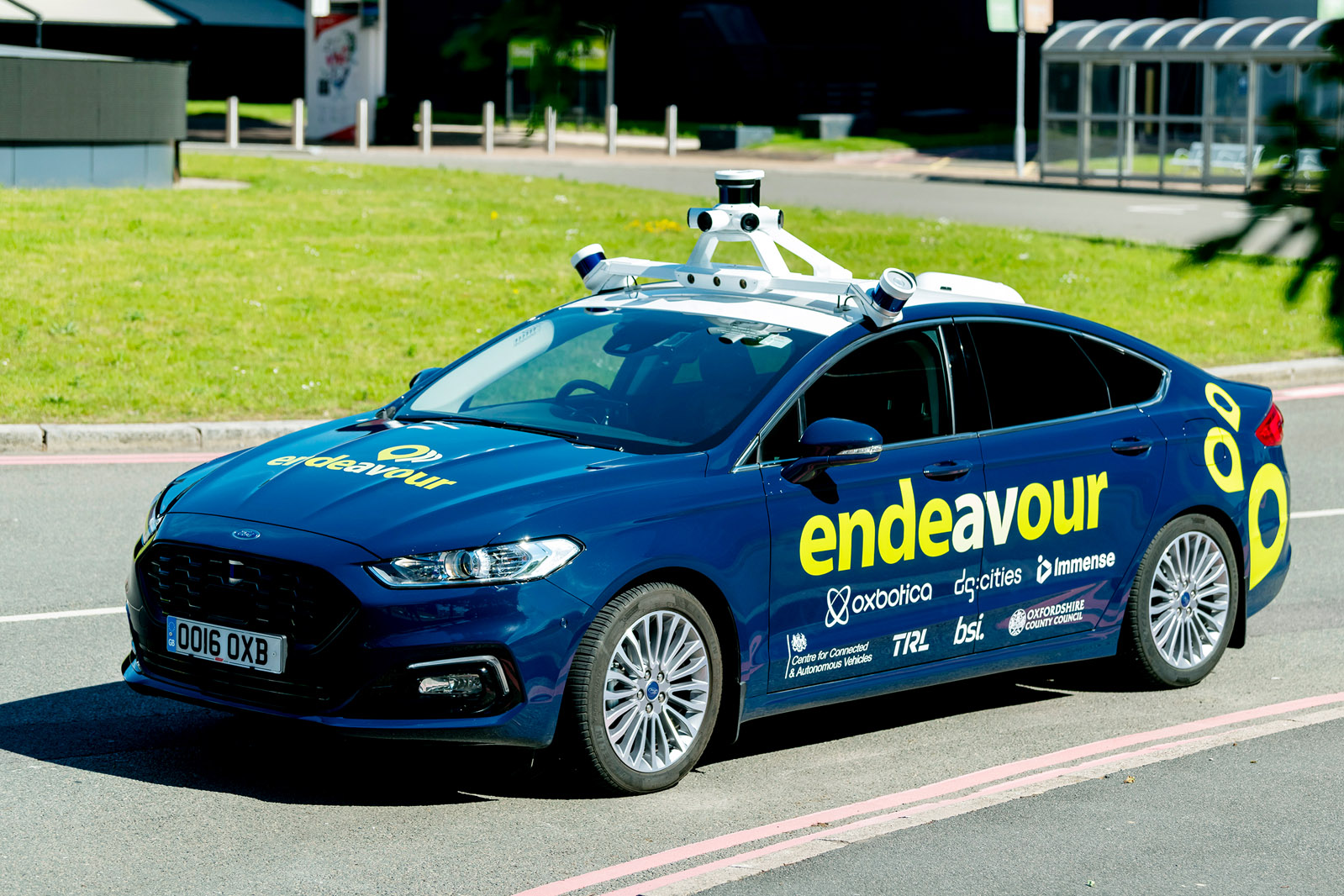 Self driving Ford Mondeos roll out in Birmingham for government ...