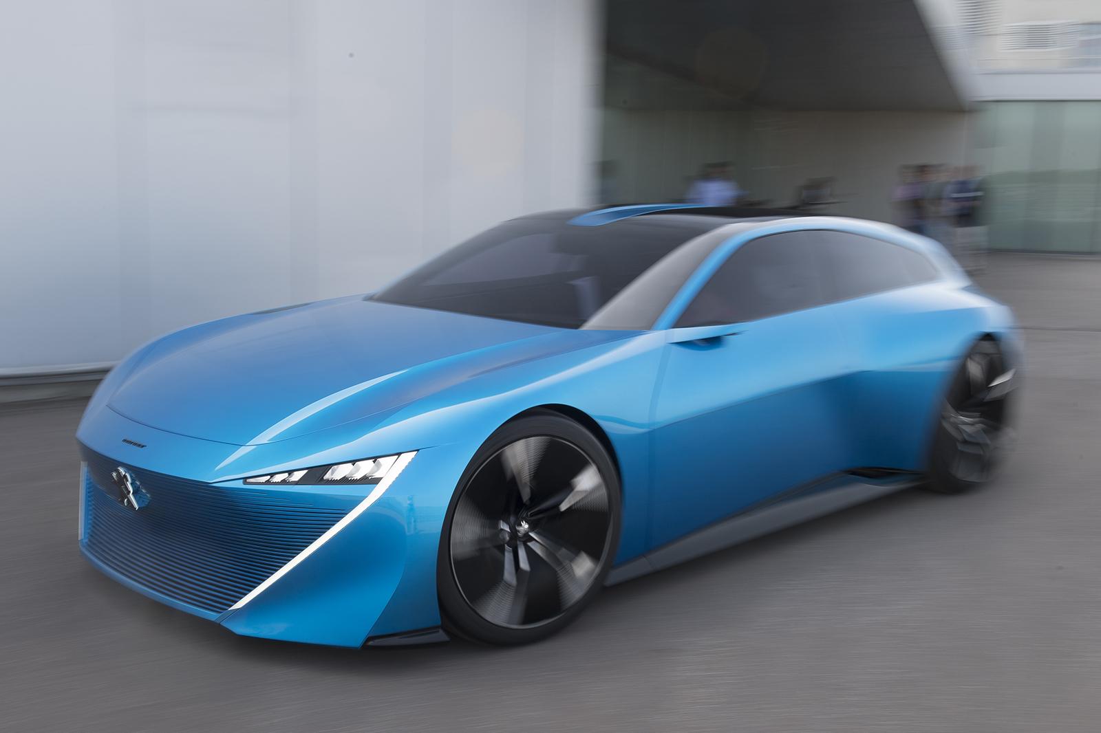 first drive peugeot instinct concept review autocar. Black Bedroom Furniture Sets. Home Design Ideas