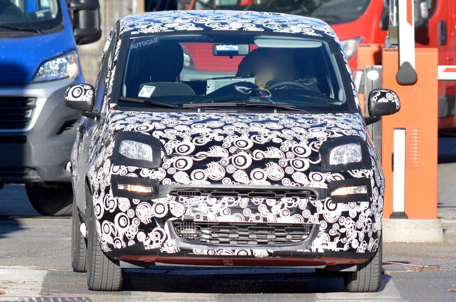 Fiat Panda 2017 >> 2017 Fiat Panda Facelift Latest Spy Shots Autocar