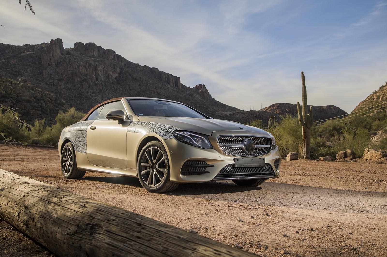 Mercedes-Benz E-Class: Cleaning the plastic trim