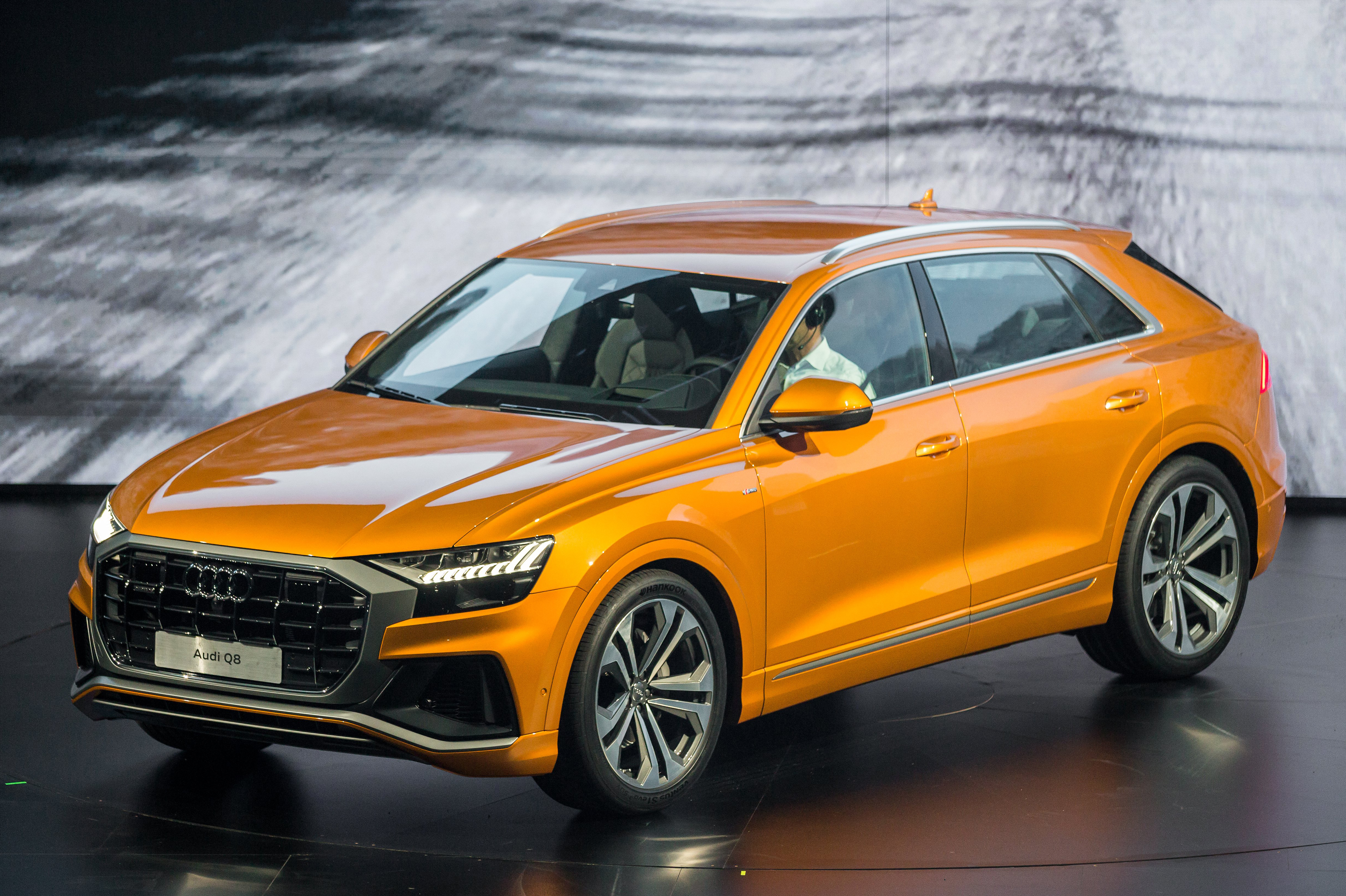 Audi Q8 Suv Range Rover Sport And Bmw X6 Rival Launched Autocar