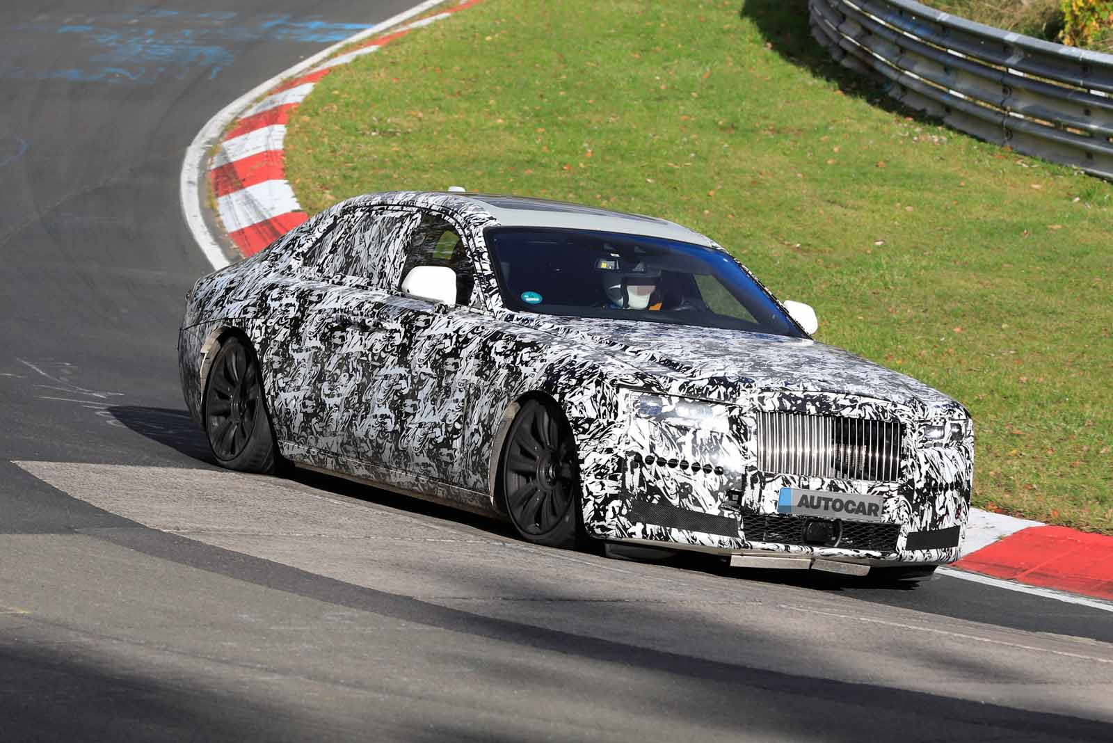 New 2020 Rolls Royce Ghost Hits The Nurburgring Autocar