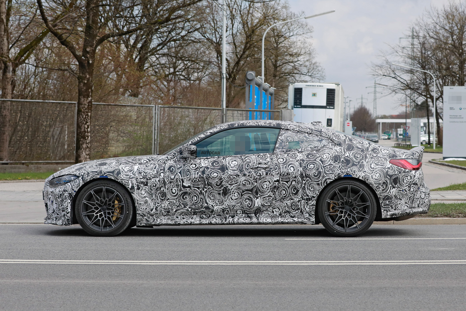 New 2022 BMW M4 CSL primed as lightweight track weapon   Autocar