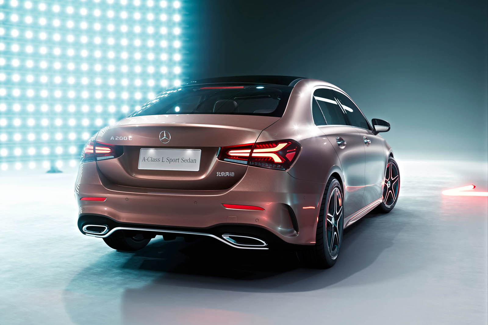 mercedes benz a class saloon unveiled as audi a3 saloon rival autocar. Black Bedroom Furniture Sets. Home Design Ideas