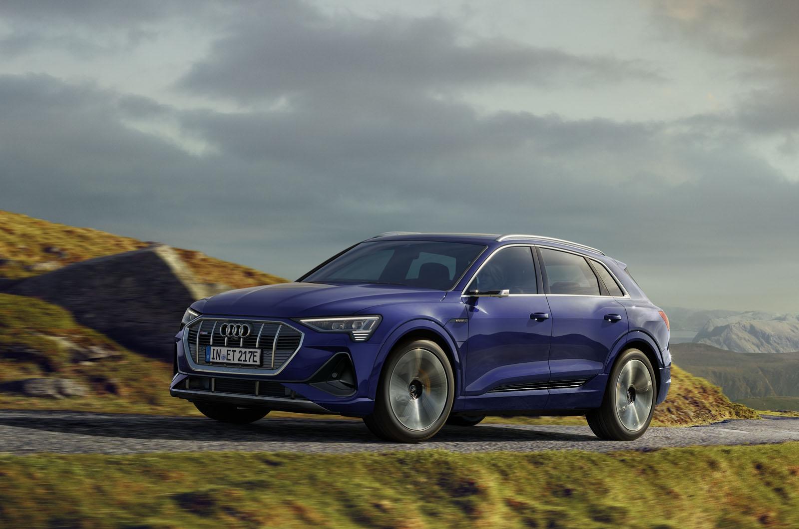 Audi E-tron offers more range with upgrade  Autocar