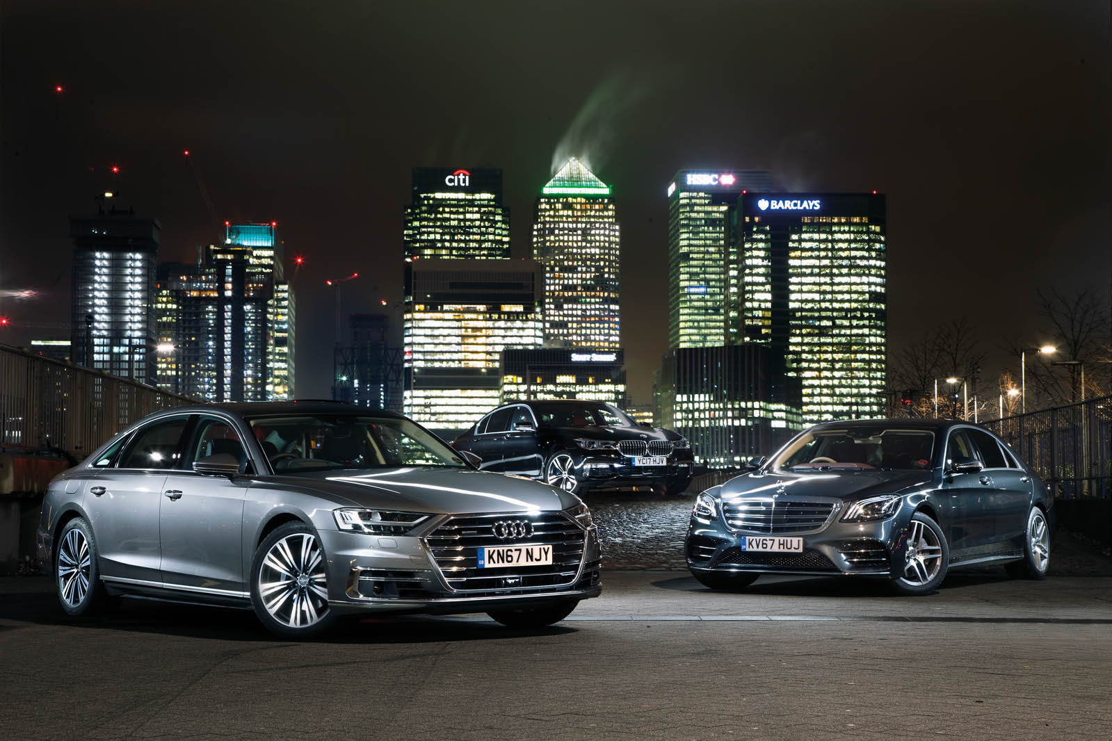 Audi A8 Vs Bmw 7 Series Vs Mercedes Benz S Class Luxury Saloon