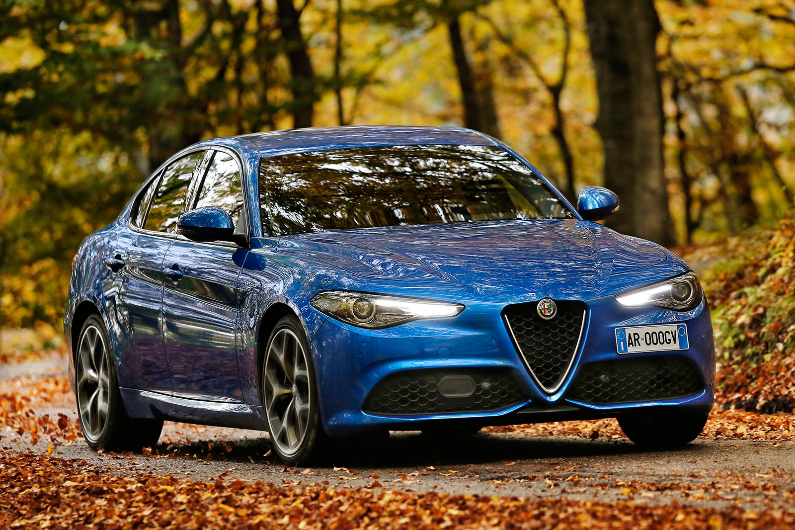 2017 Alfa Romeo Giulia Veloce Review Autocar