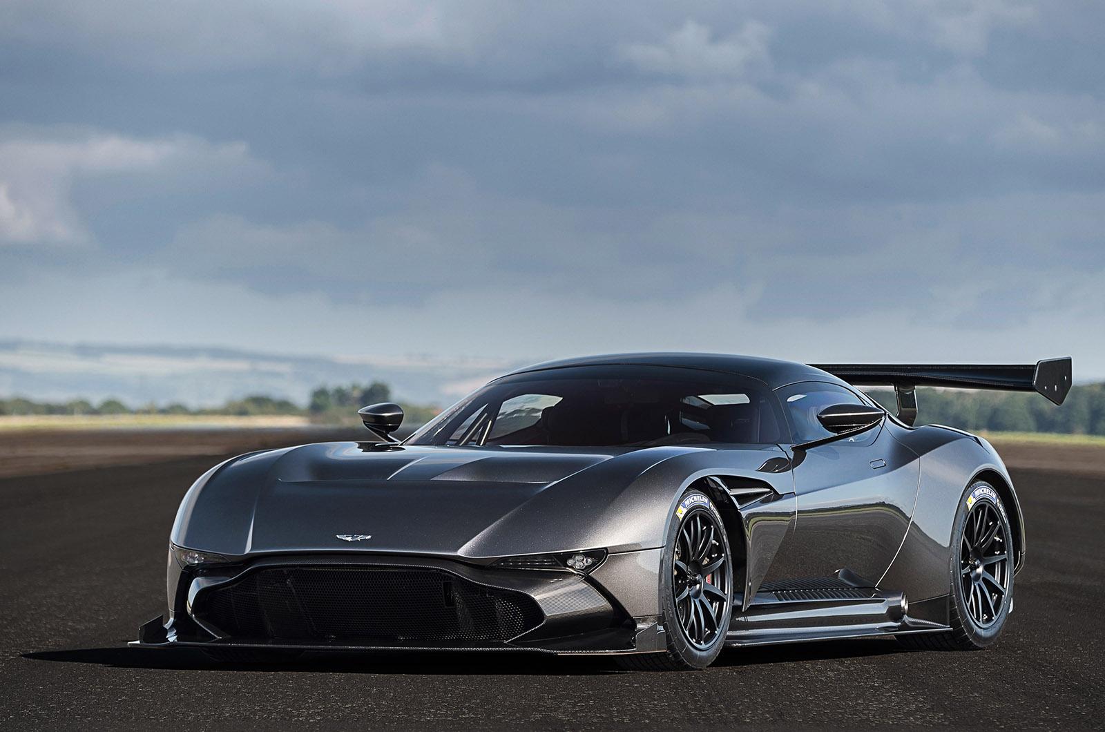 Exclusive Aston Martin Vulcan Gets Road Conversion Kit Autocar