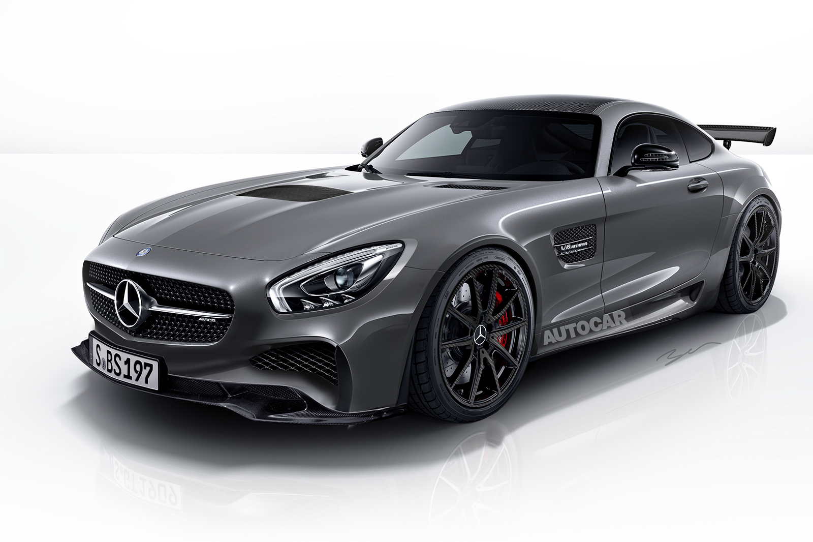 600bhp Mercedes-AMG C-Class Black Series under ...