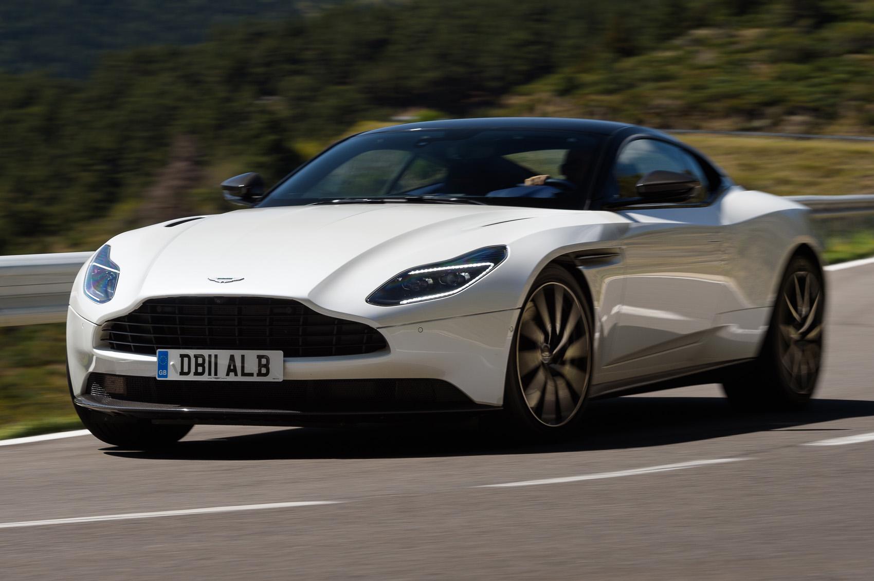 Aston Martin Db11 V8 2017 Review Autocar