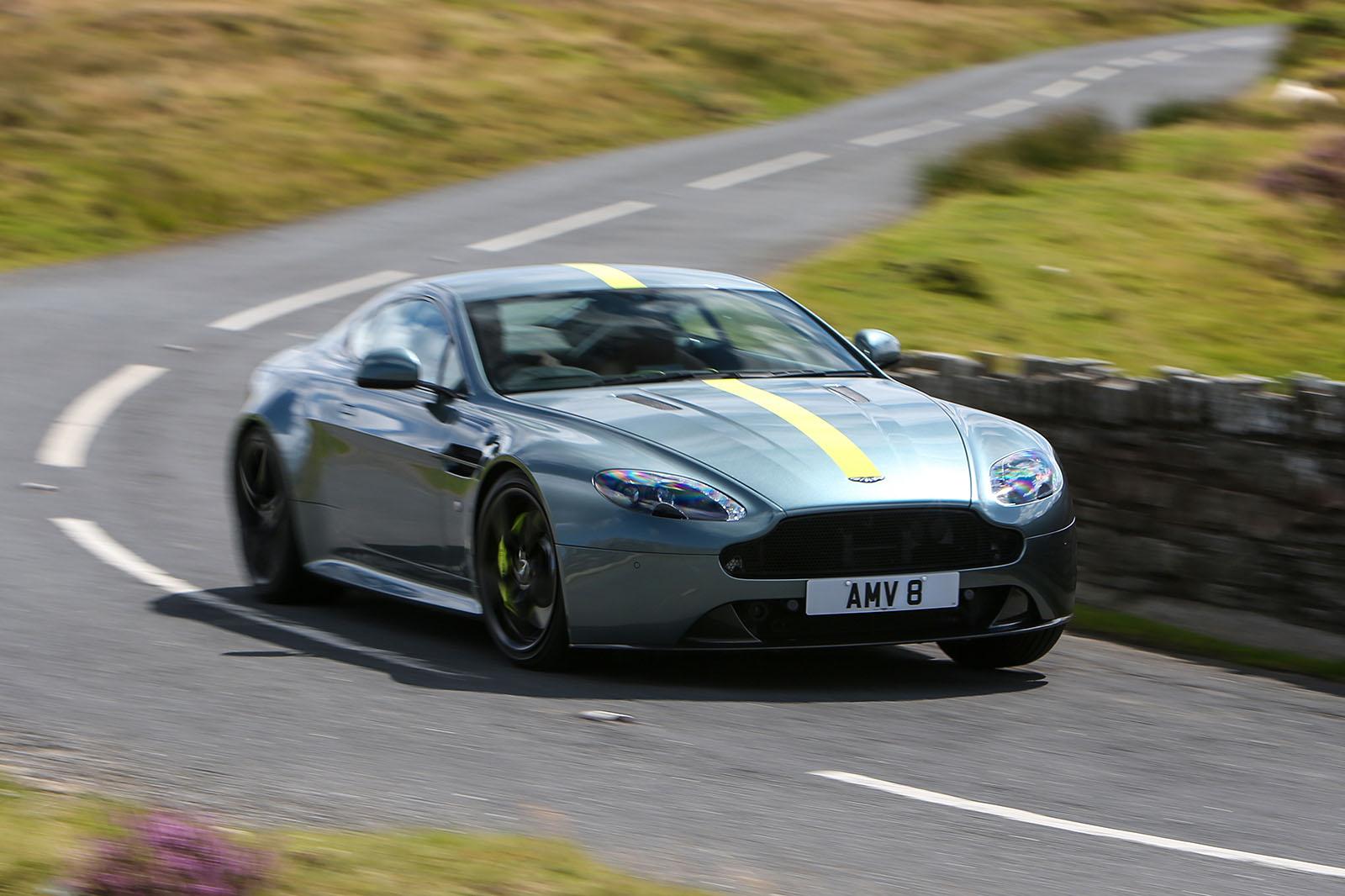 Aston Martin Vantage V8 Amr 2017 Review Autocar