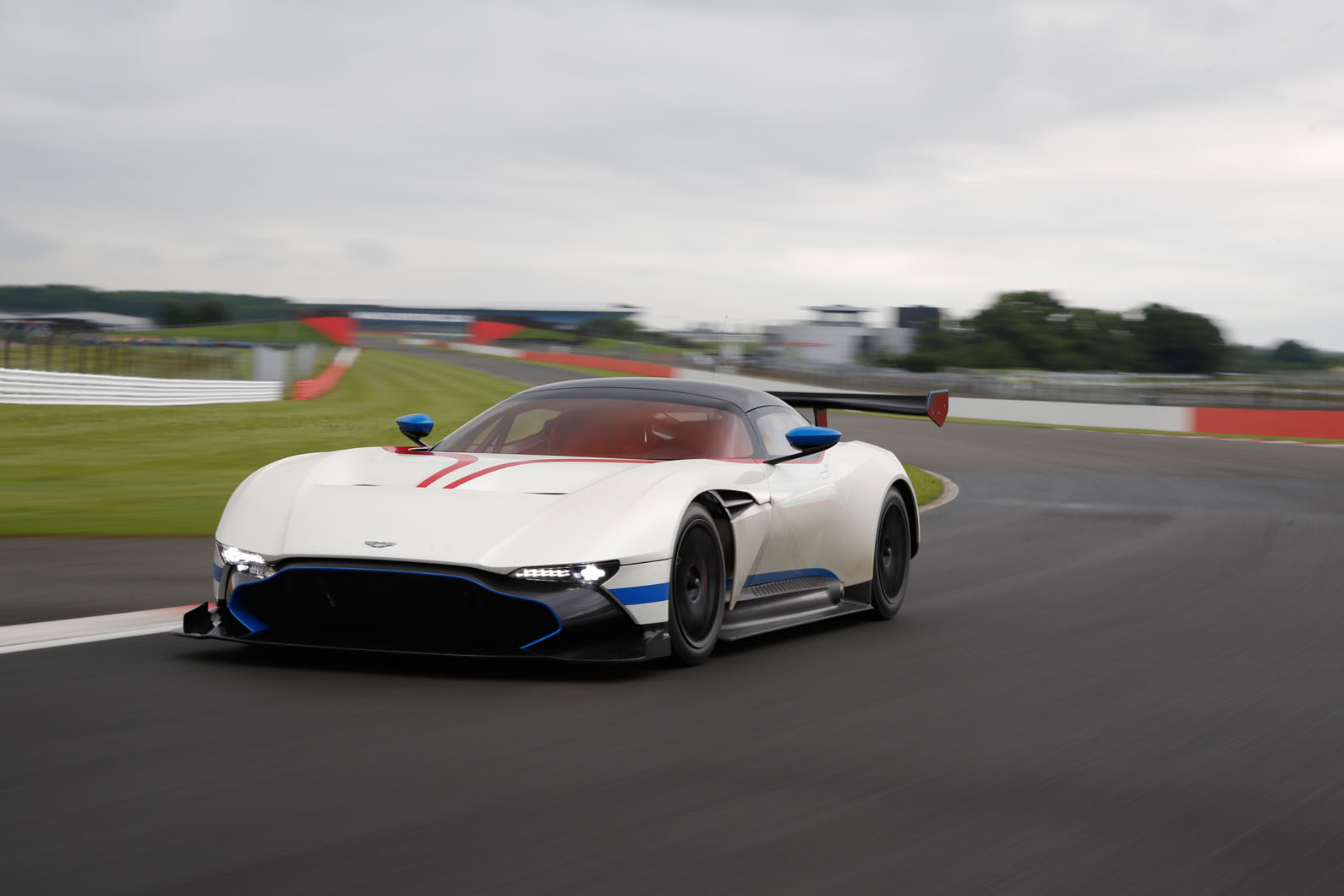 Aston Martin Vulcan Flat Out At Silverstone Autocar