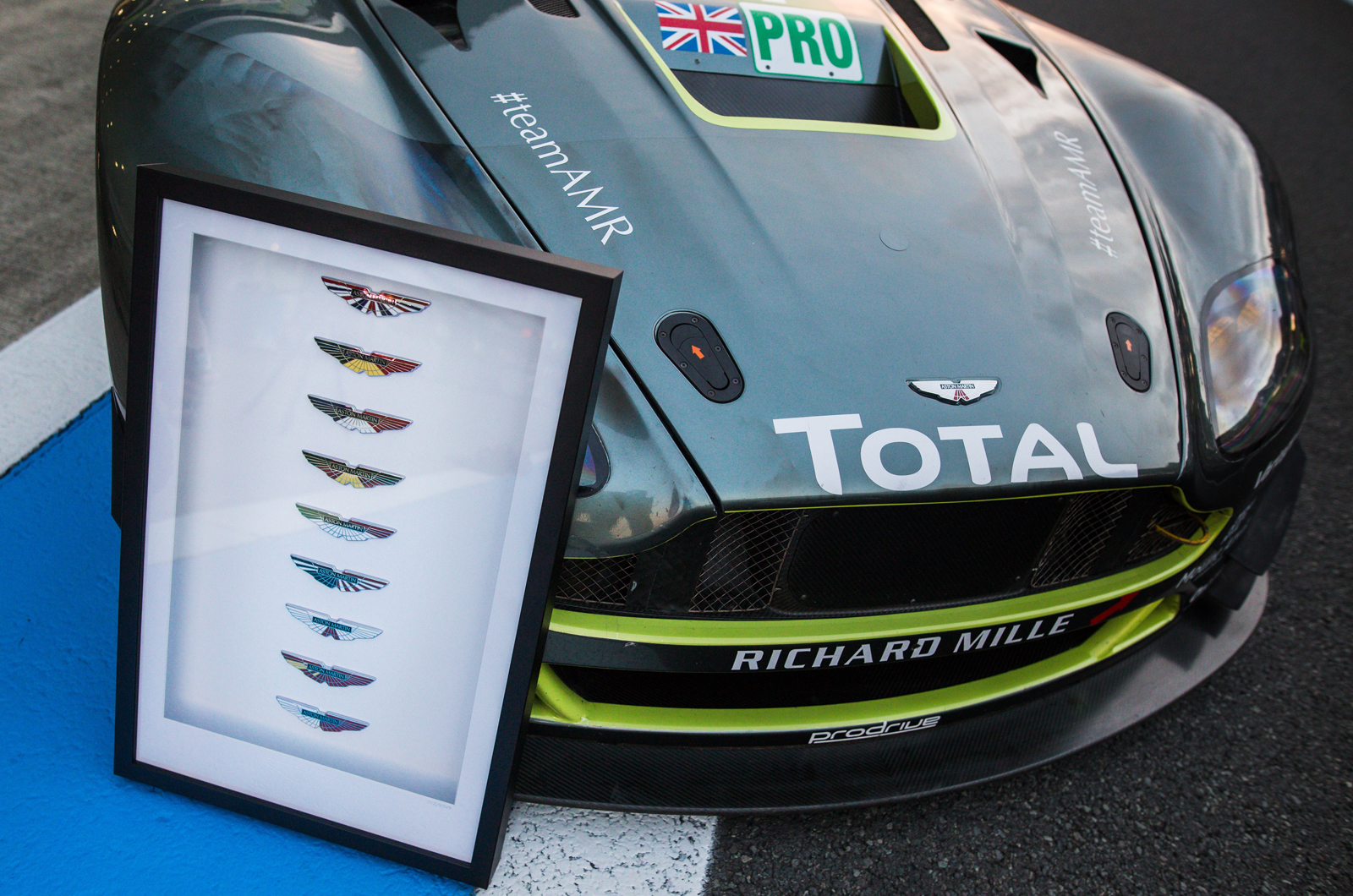 Aston Martin To Sell Wec Badge Collection Autocar