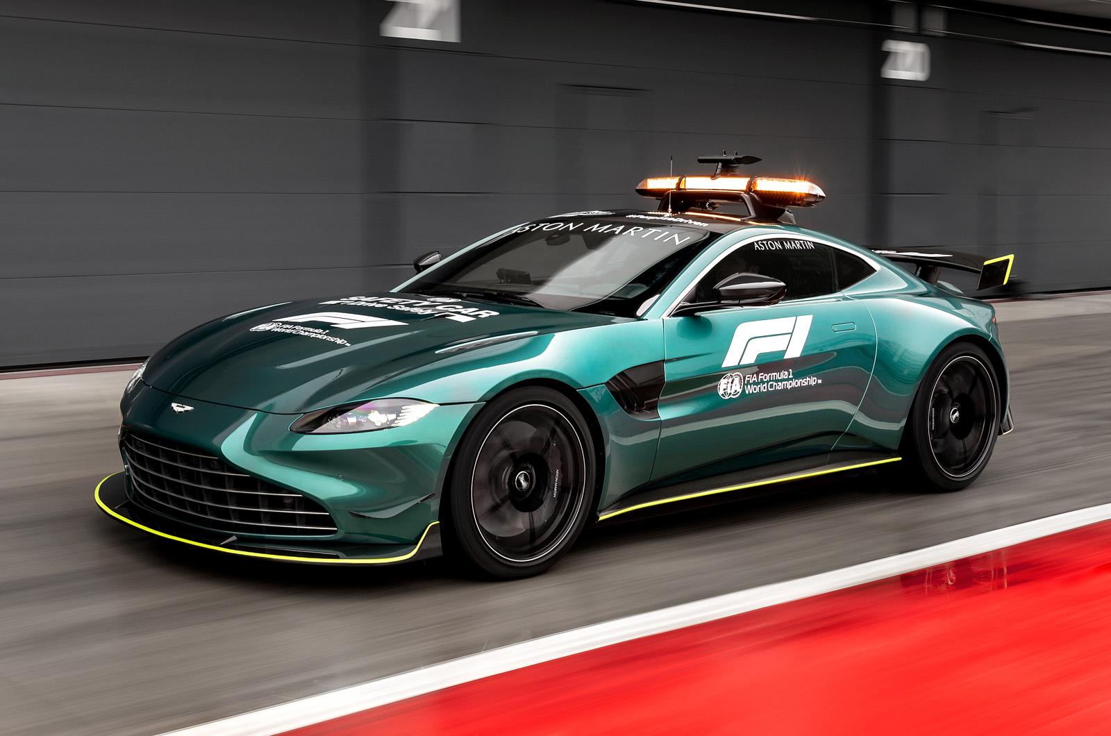 Aston Martin reveals uprated Vantage Formula 1 safety car | Autocar