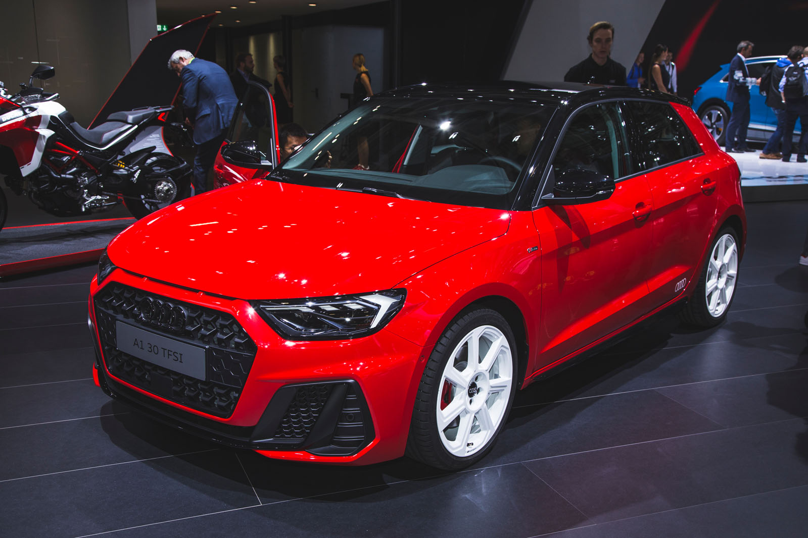 2018 Audi A1 makes first public appearance at Paris motor