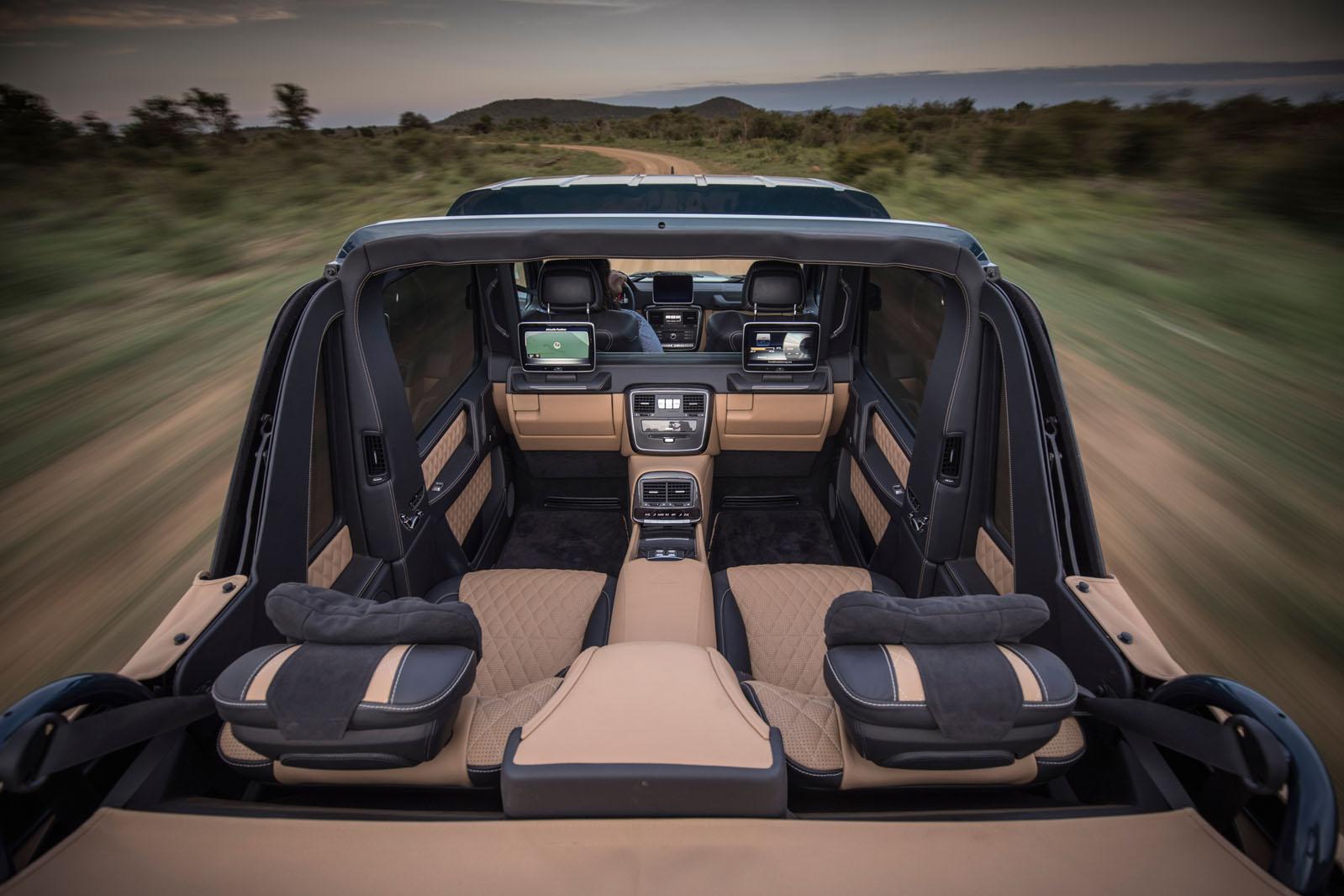 Mercedes Maybach G650 Landaulet We Take A Ride Through The African Wild Autocar